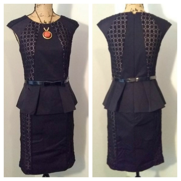 Nue by Shani Dresses & Skirts - Nue by Shani black and lace dress sz 4